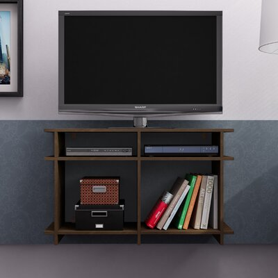 Althea 35 TV Stand Color: Tobacco