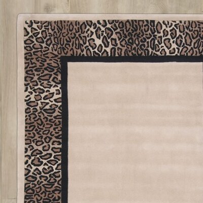 Nell Hand-Tufted Beige/Brown Area Rug