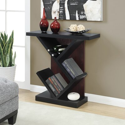 Chantelle Console Table Finish: Black