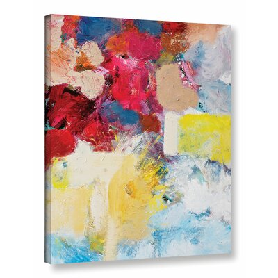'When the Angels Sing' Painting Print on Wrapped Canvas Size: 18