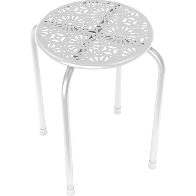 Caitlin End Table Finish: White