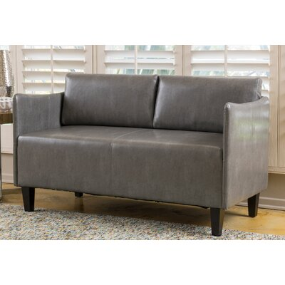 Keanu Loveseat Color: Gray