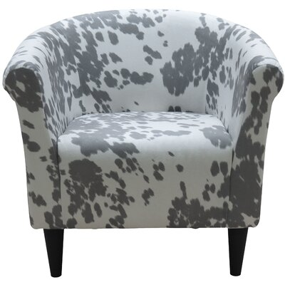 Liam Barrel Chair Upholstery: Cowboy Silver