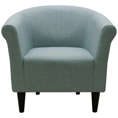 Liam Barrel Chair Upholstery: Roma Misty