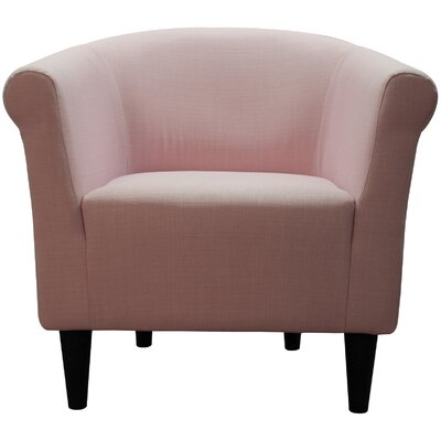 Liam Barrel Chair Upholstery: Pink Flutter