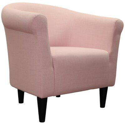Liam Barrel Chair Upholstery: Pink Flutter
