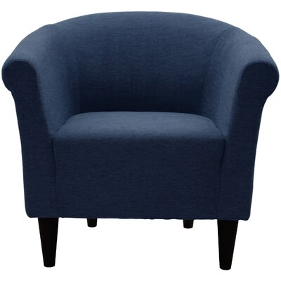 Liam Barrel Chair Upholstery: Indigo