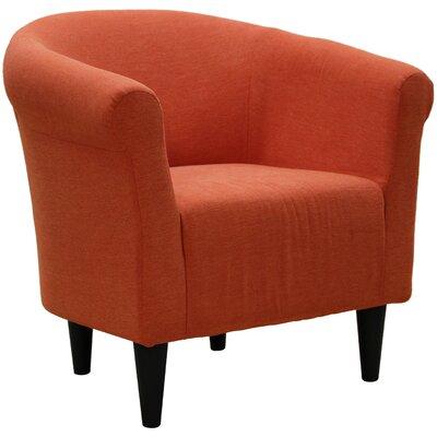 Liam Barrel Chair Upholstery: Hacienda Orange