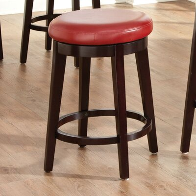 Kaitlin Swivel Bar Stool Height: 29