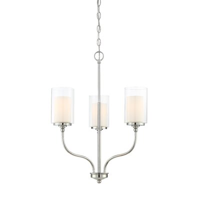 Maddie 3-Light Candle-Style Chandelier