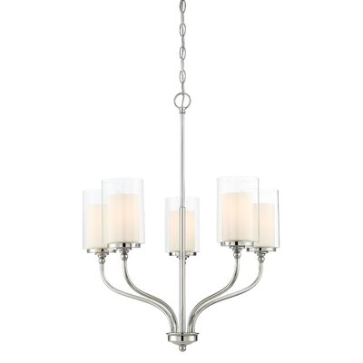 Maddie 5-Light Candle-Style Chandelier