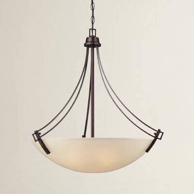 Simpson 4-Light Pendant Finish: Espresso