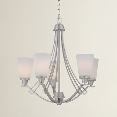 Simpson 5-Light Shaded Chandelier
