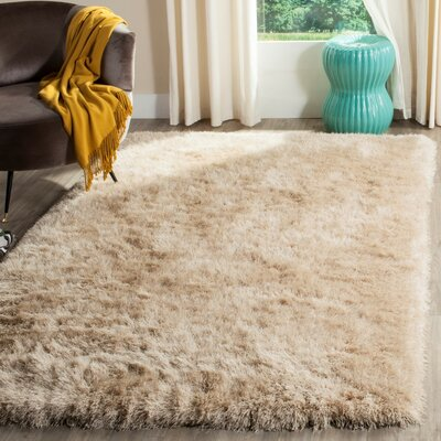 Zion Champagne Area Rug Rug Size: Rectangle 6 x 9
