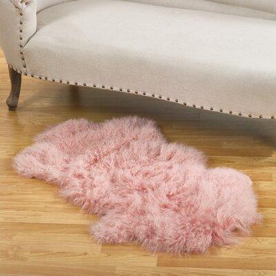 Blankenship Pink Area Rug