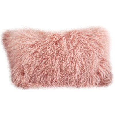 Becky Lumbar Pillow Color: Rose