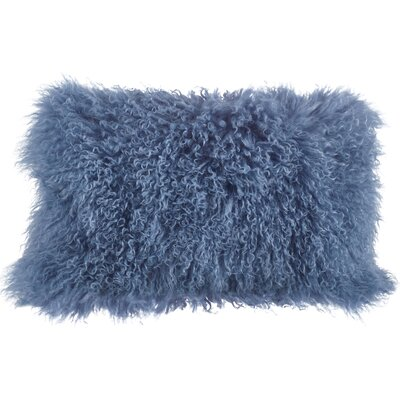Becky Lumbar Pillow Color: Blue / Gray
