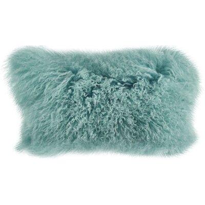 Becky Lumbar Pillow Color: Mint