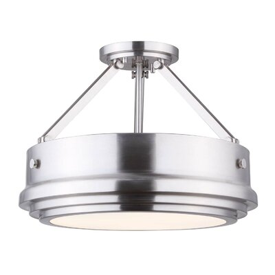 Loren 3-Light Semi Flush Mount