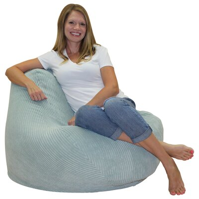 Bean Bag Chair Upholstery: Spa Blue