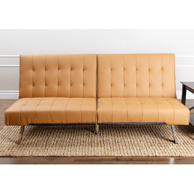 Elinor Convertible Sofa Upholstery: Camel