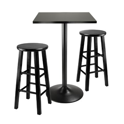 Avery 3 Piece Counter Height Pub Set