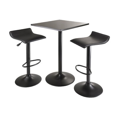 Avery 3 Piece Dining Table Set
