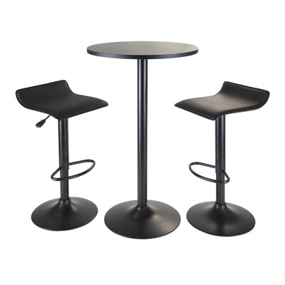 Avery 3 Piece Pub Table Set