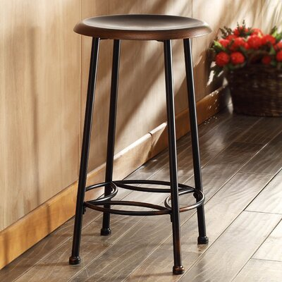 Betty 24 Bar Stool Finish: Antique Copper