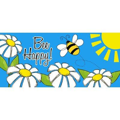 Marcus Welcome Bee Sassafras Doormat