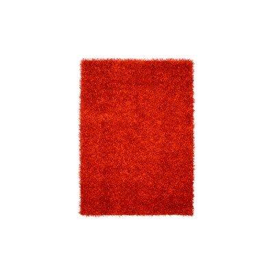 Celine Red Area Rug Rug Size: 4 x 6