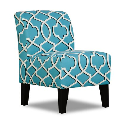 Veliz Upholstery Pearle Slipper Chair by Simmons Upholstery