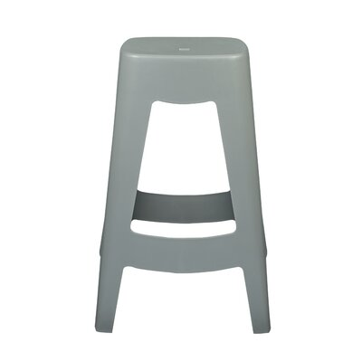Maxwell Bar Stool (Set of 4) Finish: Gray