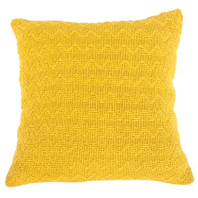 Donald Throw Pillow (Set of 2) Color: Yellow