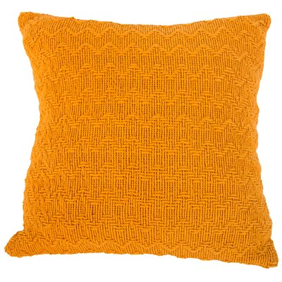 Donald Throw Pillow (Set of 2) Color: Orange