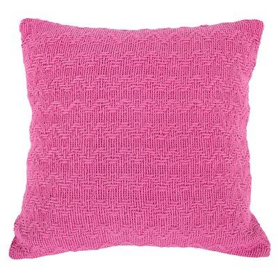 Donald Cotton Throw Pillow (Set of 2) Color: Pink