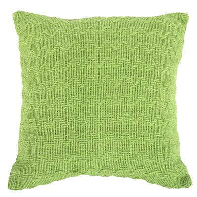 Donald Throw Pillow (Set of 2) Color: Green
