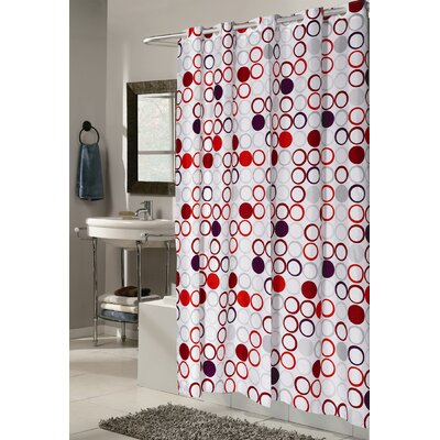 Angie Shower Curtain Size: Extra Wide