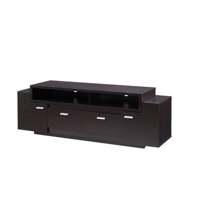 Shayla 60 TV Stand Color: Cappuccino