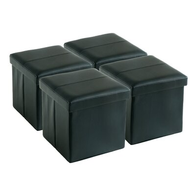 Fischer Square Folding Storage Ottoman