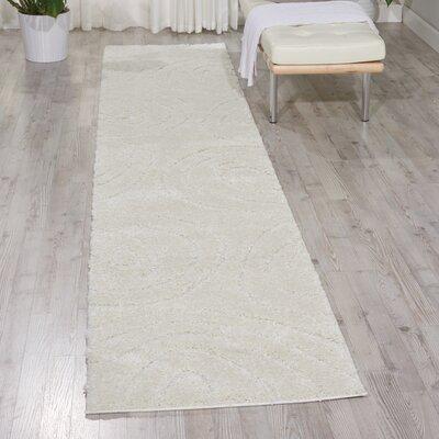 Tonette Cream Area Rug Rug Size: Runner 22 x 117