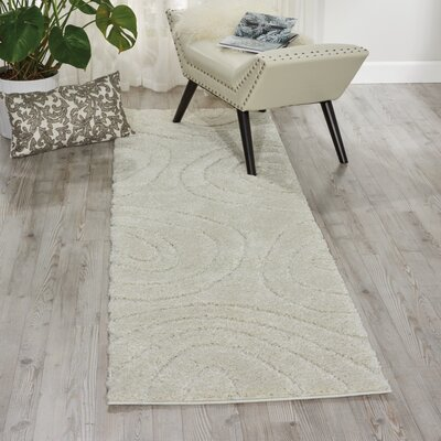 Tonette Cream Area Rug Rug Size: Rectangle 82 x 10