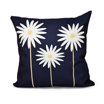 Bailey Floral Print Throw Pillow Color: Bewitching, Size: 20 H x 20 W x 1 D