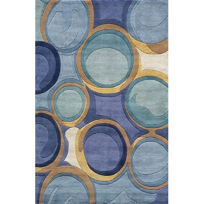 Zed Hand-Tufted Area Rug Rug Size: 8 x 11