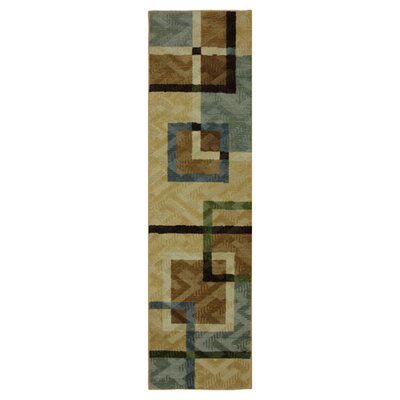Samella Overlapping Squares Area Rug Rug Size: Runner 2 x 79