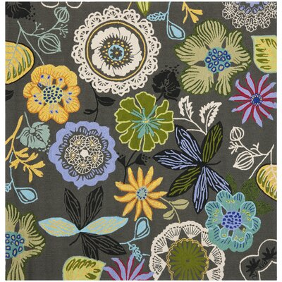 Stacy Indoor/Outdoor Area Rug I Rug Size: Square 6