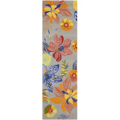 Hayes Outdoor Area Rug Rug Size: Runner 23 x 8