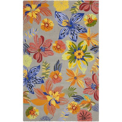 Hayes Outdoor Area Rug Rug Size: Rectangle 5 x 7