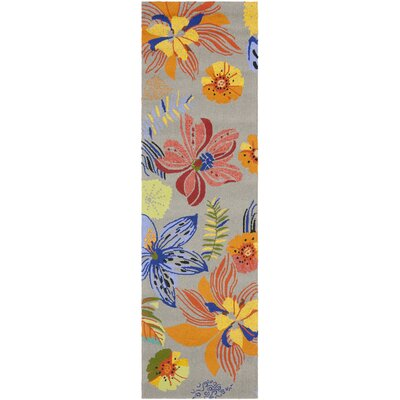 Hayes Outdoor Area Rug Rug Size: Runner 23 x 6
