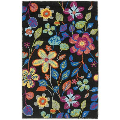 Hayes Floral Outdoor Area Rug Rug Size: Rectangle 26 x 4